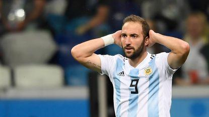 """Hoe één van Argentiniës beste spitsen ei zo na in de aanval stond bij Frankrijk: """"Higuaín kende geen woord Frans, zijn keuze was helaas snel gemaakt"""""""