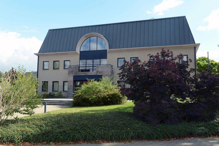 Het gemeentehuis in Oud-Heverlee
