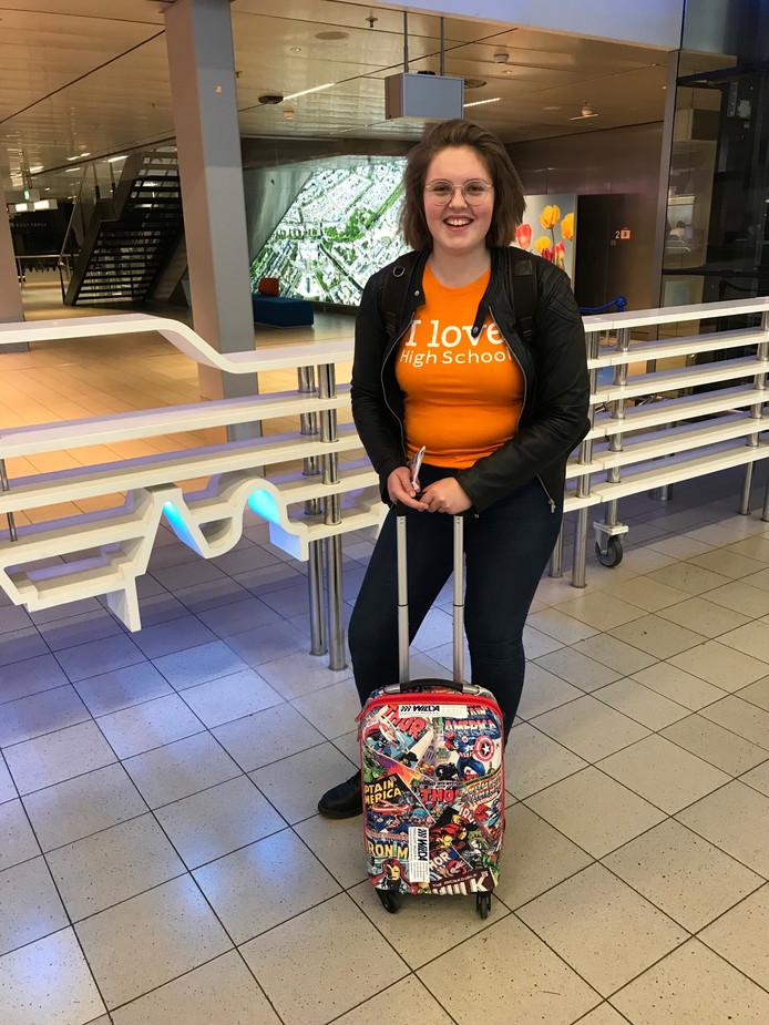 Jiske  van Piggelen uit Woudenberg studeert momenteel in het Canadese Halifax. 'Er is nog steeds ruimte voor liefde in Nederland.'