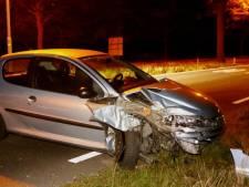 Tilburger knalt met auto tegen boom in Biezenmortel