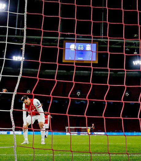 Ajax won één van de laatste acht CL-thuiswedstrijden: 'Wij laten ons geen crisis aanpraten'