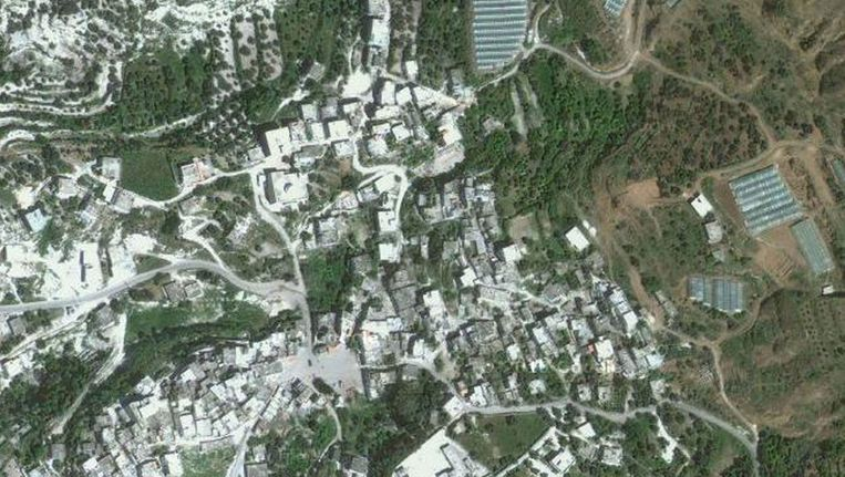 Bayda vanuit de lucht Beeld Google Maps