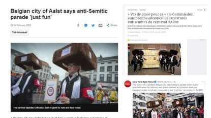 Foto's 'De Klaugmieren' op Aalst Carnaval gaan de wereld rond