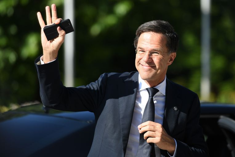 Premier Rutte. Beeld AFP
