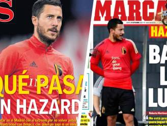 Het vreemde verhaal van Eden Hazard: pers in Madrid wordt het stilaan moe