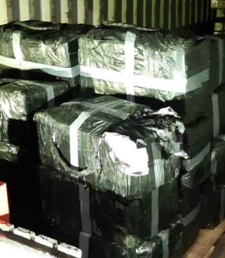 750 kilo 'spatzuivere' coke gevonden op bedrijventerrein in Roosendaal, waarde 30 miljoen euro