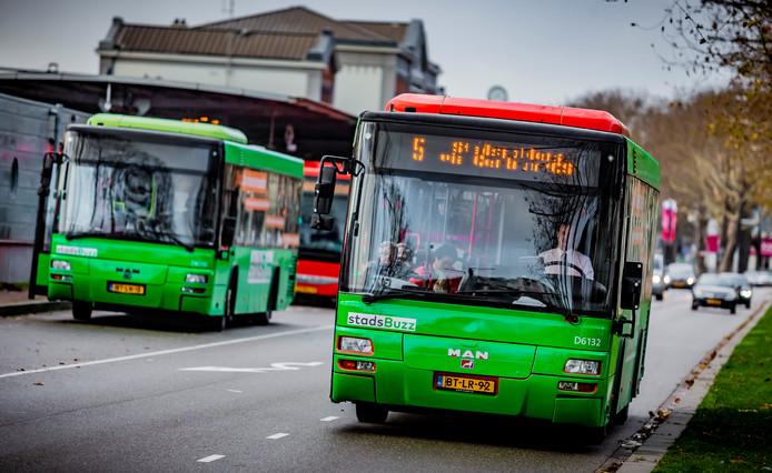 Vanwege het ontbreken van een noodknop aan boord reden er minder bussen in de binnenstad.