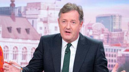 Piers Morgan neemt 'pauze' na uit de hand gelopen Twitterpoll over zijn toekomst