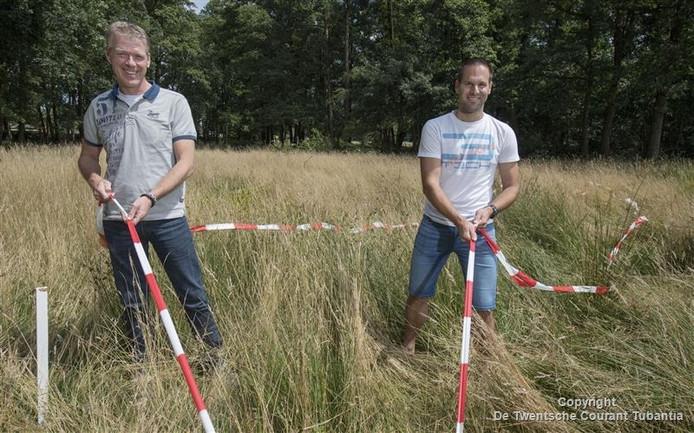 Organisatoren Bart-Jan Harmen (rechts) en Michiel Poel.