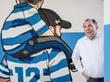 Harde kern De Graafschap kleurt Vijverberg blauw-wit: 'Dit is zó gaaf'