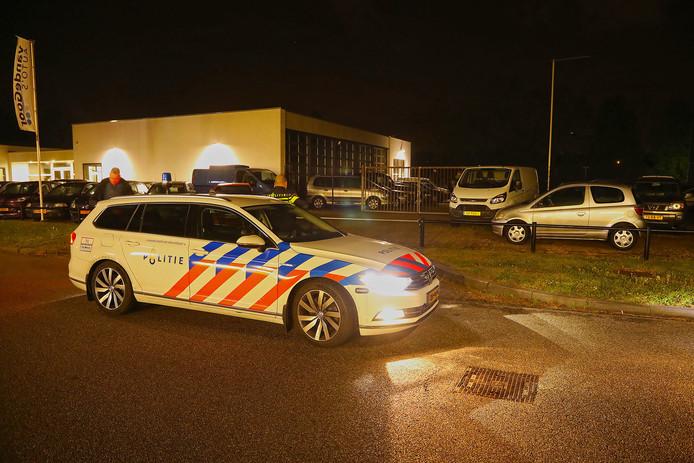 Politieactie in Oss.