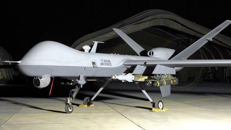 MQ-9 Reaper UAV van de British Royal Air Force. Beeld epa