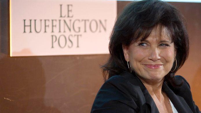 Anne Sinclair, directrice éditoriale de la version française du Huffington Post.