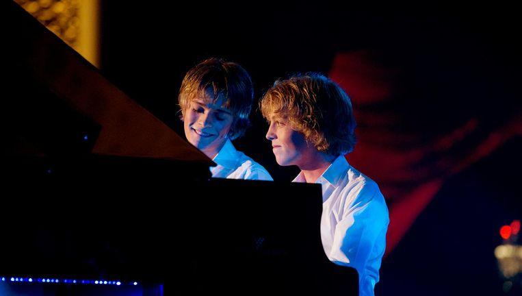 De broers Arthur en Lucas Beeld ANP