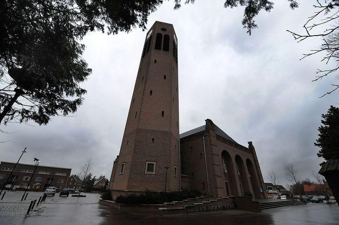 De Laurentiuskerk in Vierlingsbeek.