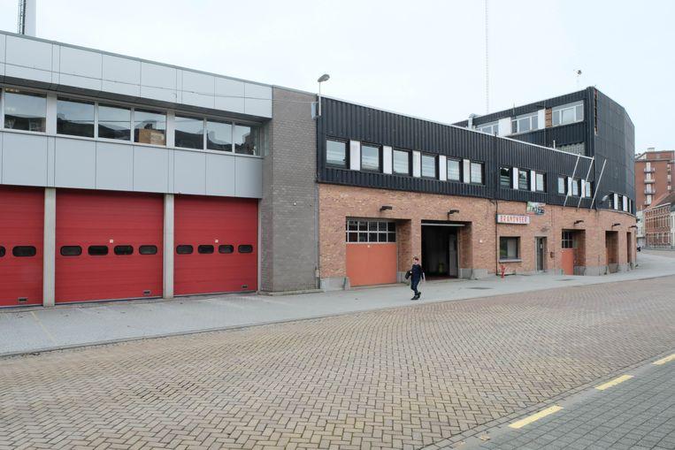 De brandweerkazerne in de Dageraadstraat.
