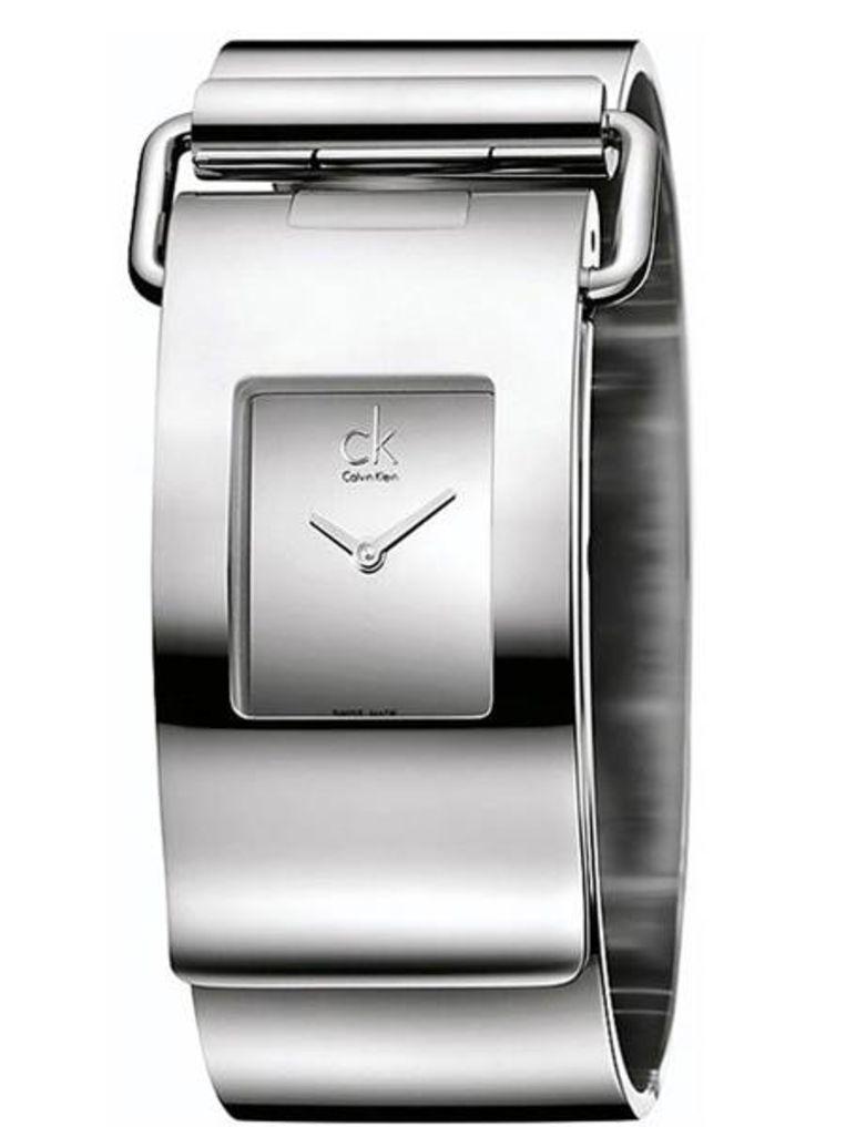 Een horloge van Calvin Klein.  Beeld null