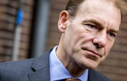 Staatssecretaris Menno Snel van Financiën (D66) komt aan op het Binnenhof voor de wekelijkse ministerraad.