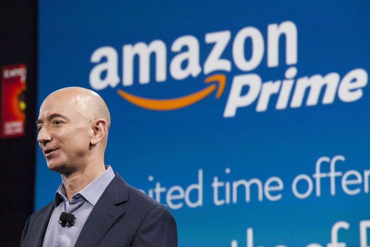 CEO van Amazon Jeff Bezos. Beeld afp