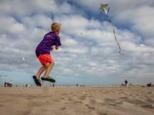 Geslaagd vliegerfestijn op het strand