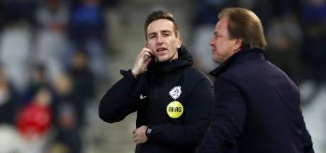 Apeldoornse arbiter Luuk Timmer lonkt naar betaald voetbal