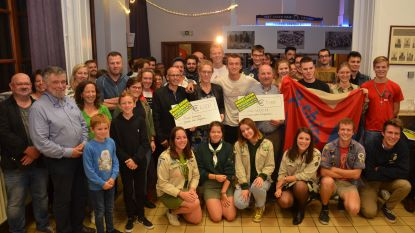 'Dwars door Neigembos' brengt 9.000 euro op voor mucostichting en vzw Wenteka