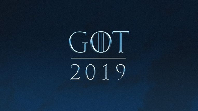 Het( laatste seizoen van 'Game of Thrones' is voor 2019.