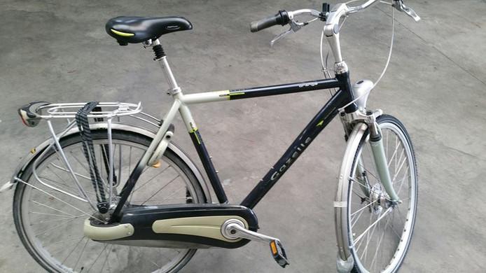 De gestolen fiets. De politie zoekt de eigenaar.