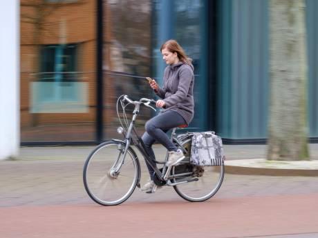 Appen op de fiets levert in Goes het vaakst een boete op