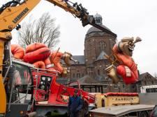 Schrappen optocht Raamsdonk komt hard aan: 'Wagens stonden al klaar'
