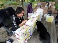 Auteur Superjuffie signeert 710 kinderboekenweekgeschenken in Driebergen