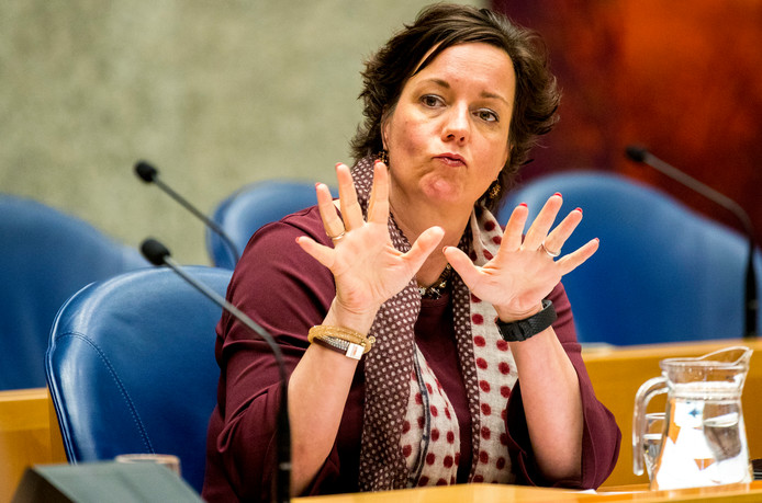 Staatssecretaris Tamara van Ark van Sociale Zaken en Werkgelegenheid (VVD).