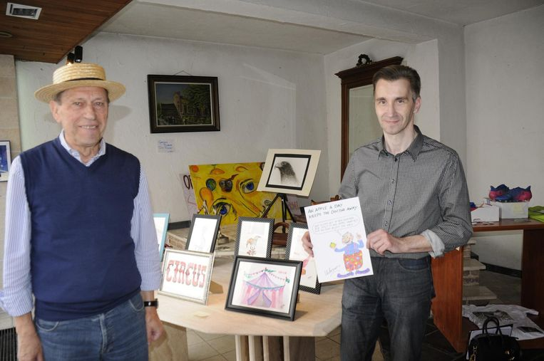 Miel Mattheus en Paul Swinnen openen zaterdag een pop-upwinkel in de vroegere bloemenwinkel Pans.