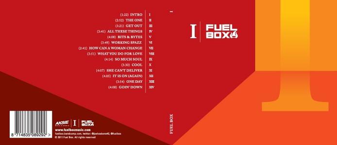 Het artwork van het album 'I'. © Fuel Box