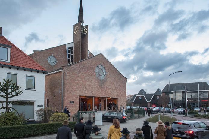 De gereformeerde kerk in Opheusden.