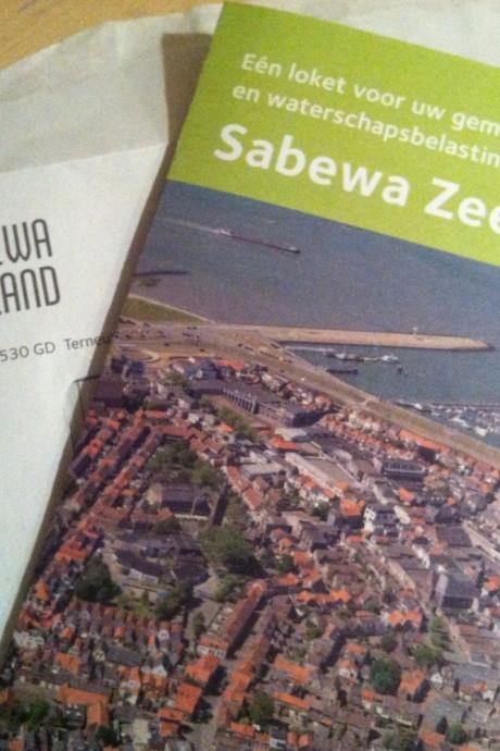 Sabewa verstuurt minder aanmaningen dan vorig jaar