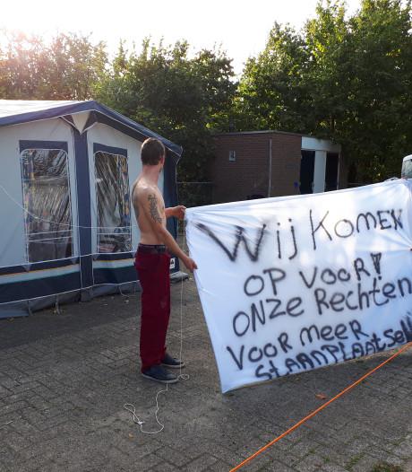 Actie voor standplaatsen op woonwagenkampje Rijssen