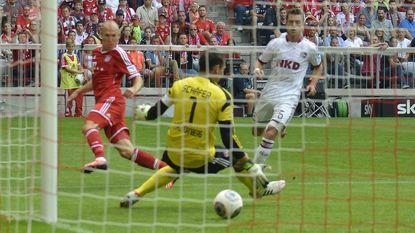 Ribéry en pareltje Robben bezorgen Bayern derde zege