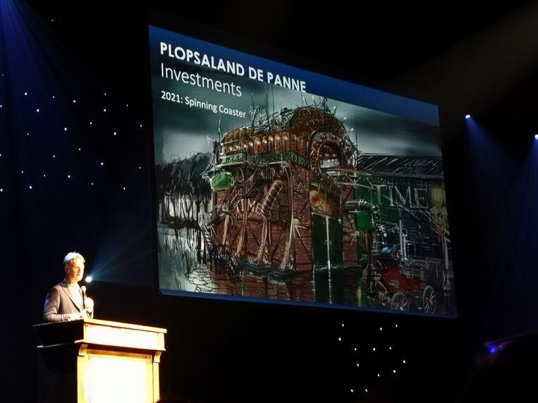 Plopsa-CEO Steve Van den Kerkhof ontvouwde de toekomstplannen in Plopsaland De Panne.