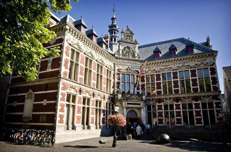 Exterieur van de Universiteit op het Domplein in Utrecht. © ANP Beeld