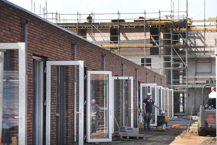 Er wordt de laatste jaren wel degelijk gebouwd in het Land van Cuijk, zoals hier in Cuijk in 2017. Toch is er nog steeds krapte op de woningmarkt.