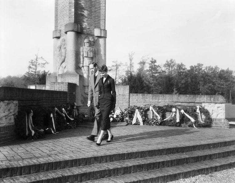 Hepburn in Oosterbeek in 1954. Beeld Nationaal Archief/Collection Anefo