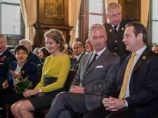 Le Roi et la Reine inaugurent le pont flottant provisoire à Anvers
