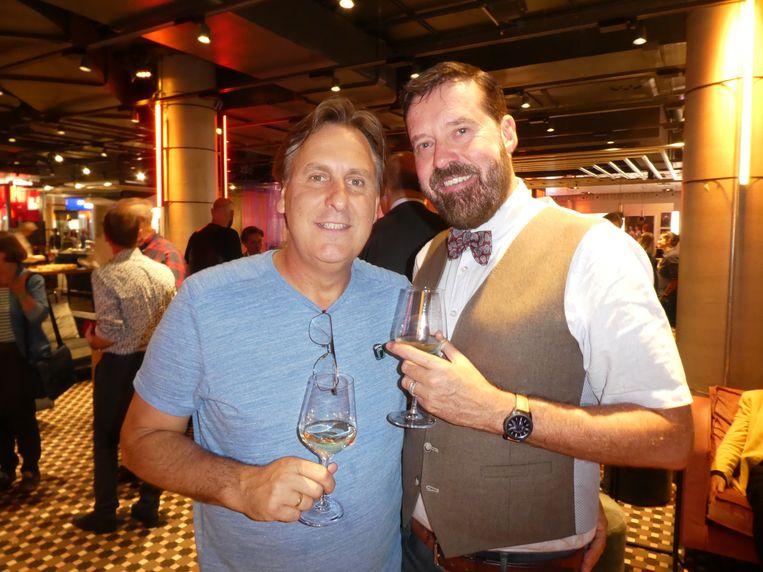 Pridedirecteur Lucien Spee en Wouter Neerings, voorzitter Pride Business Club.