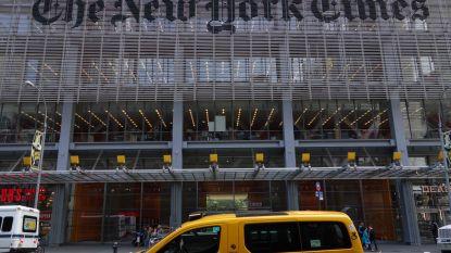 """New York Times stopt met dagelijkse cartoon na hetze rond """"antisemitische"""" spotprent"""