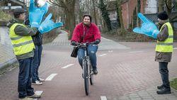 Warm applaus voor wie de fiets neemt