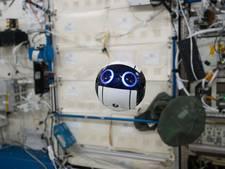 Astronauten ISS hebben nieuwe huisgenoot: een drone