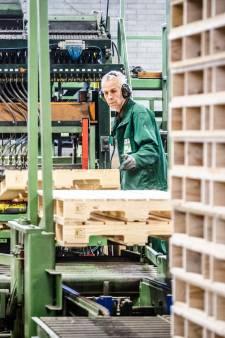 Oude palletfabriek keert Hoeksche Waard rug toe
