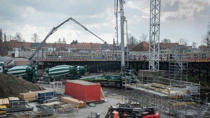 Betonnering nieuwe Dorpsbrug gaat verder