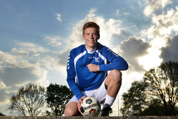 Diepenheim - Daan Haafkes, voetballer Diepenheim. editie HE         Foto Carlo ter Ellen DTCT  CTE201804255